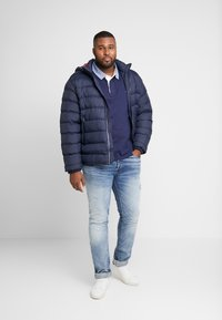 GANT - PLUS THE ORIGINAL HEAVY RUGGER - Pikeepaita - evening blue - 1