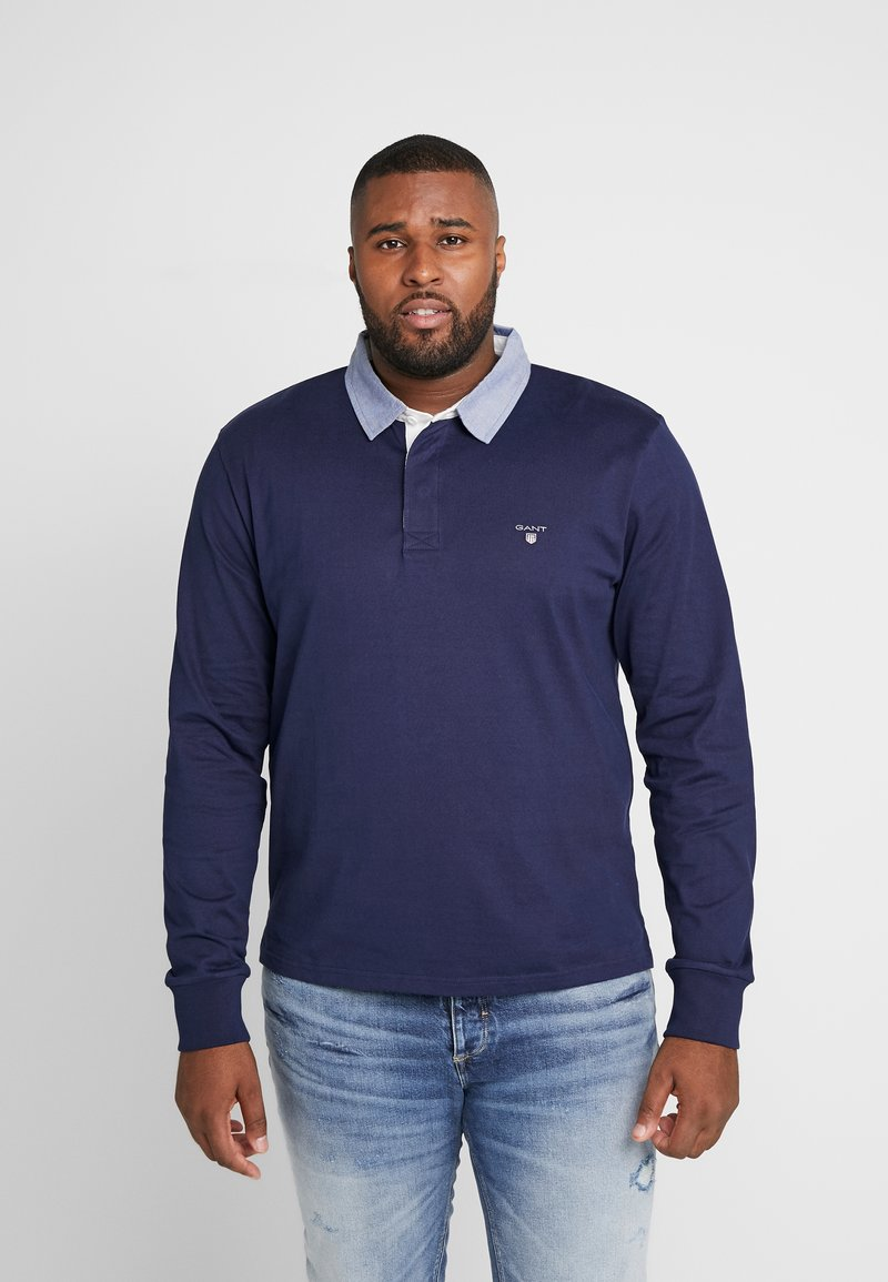 GANT - PLUS THE ORIGINAL HEAVY RUGGER - Pikeepaita - evening blue
