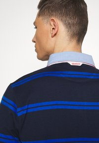 GANT - CONTRAST HEAVY RUGGER - Polo - evening blue - 4