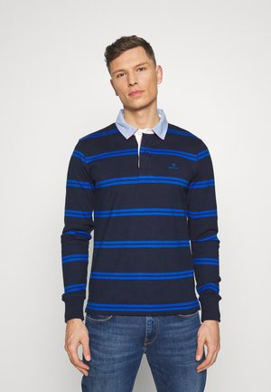 CONTRAST HEAVY RUGGER - Polo - evening blue