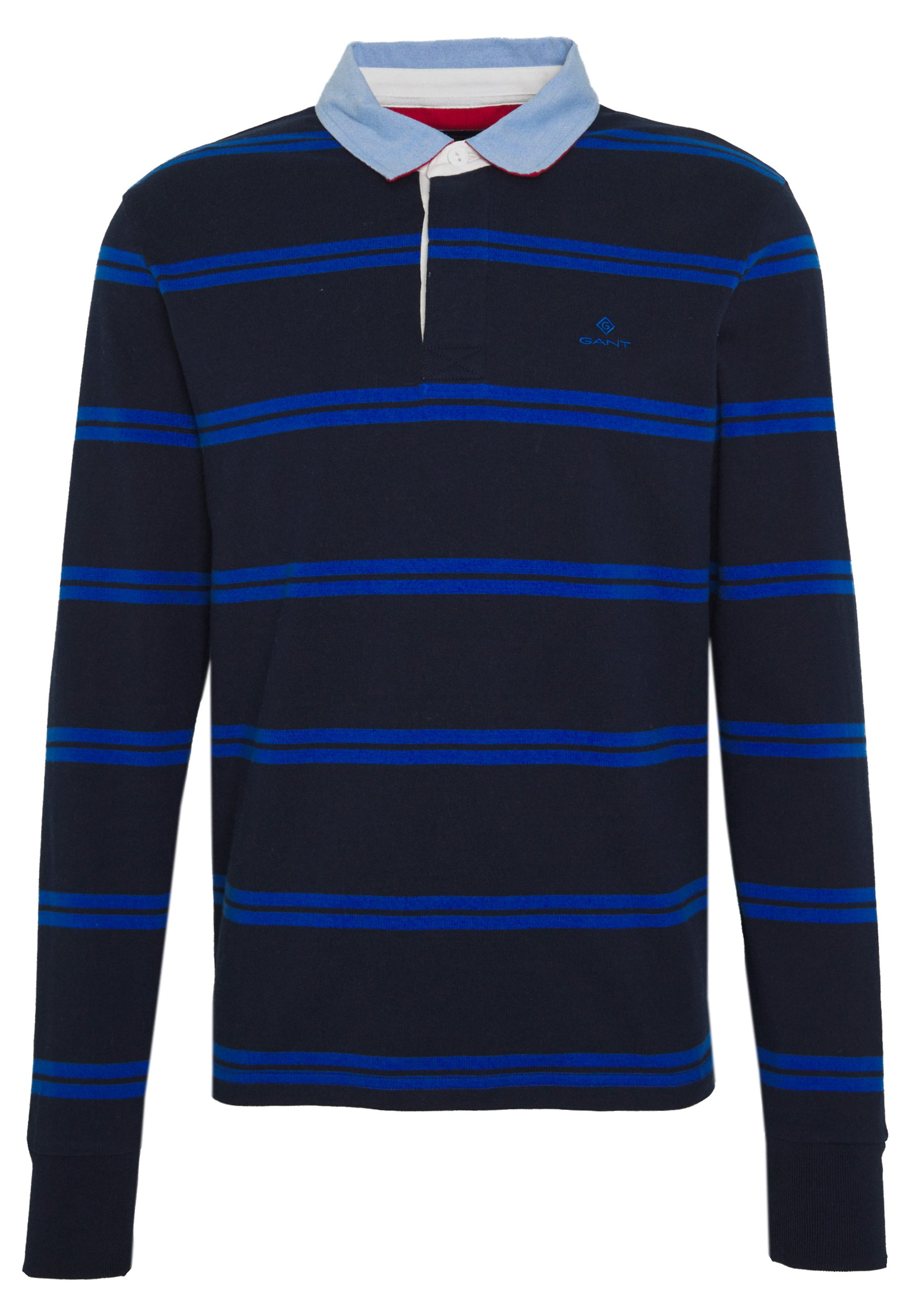 GANT CONTRAST HEAVY RUGGER - Polo - evening blue