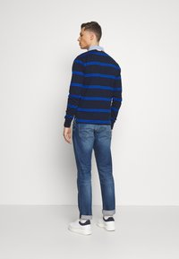 GANT - CONTRAST HEAVY RUGGER - Polo - evening blue - 2