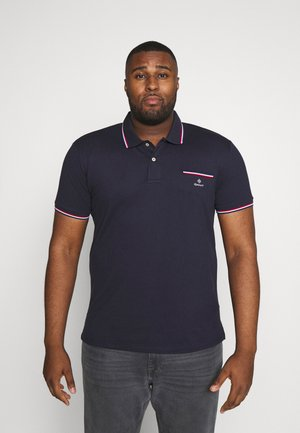 PLUS TIPPING RUGGER - Polo - evening blue