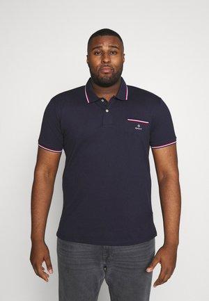 PLUS TIPPING RUGGER - Poloshirt - evening blue
