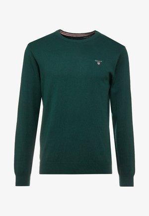 CREW - Pullover - tartan green