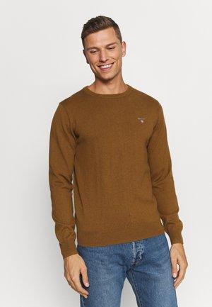 CREW - Pullover - butternut melange