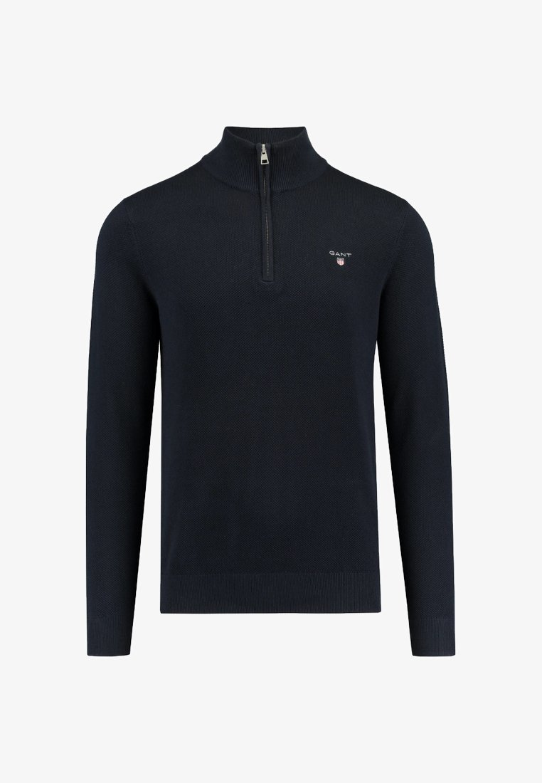 GANT - Stickad tröja - dunkelblau