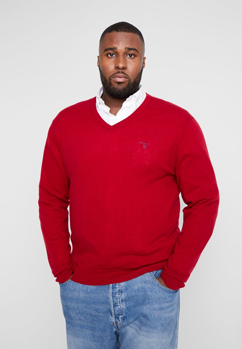 GANT - PLUS  - Sweter - red