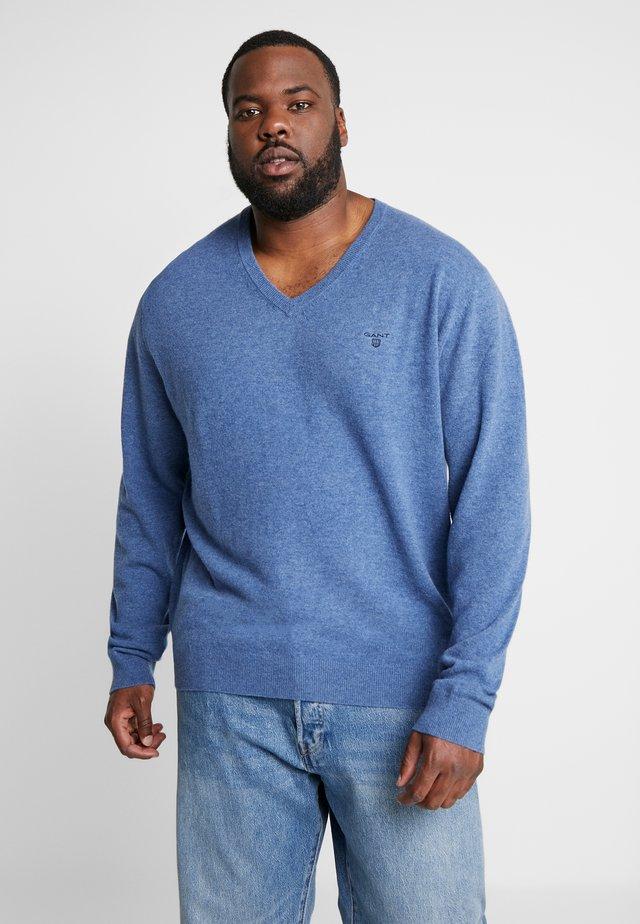 PLUS  - Jersey de punto - stone blue melange