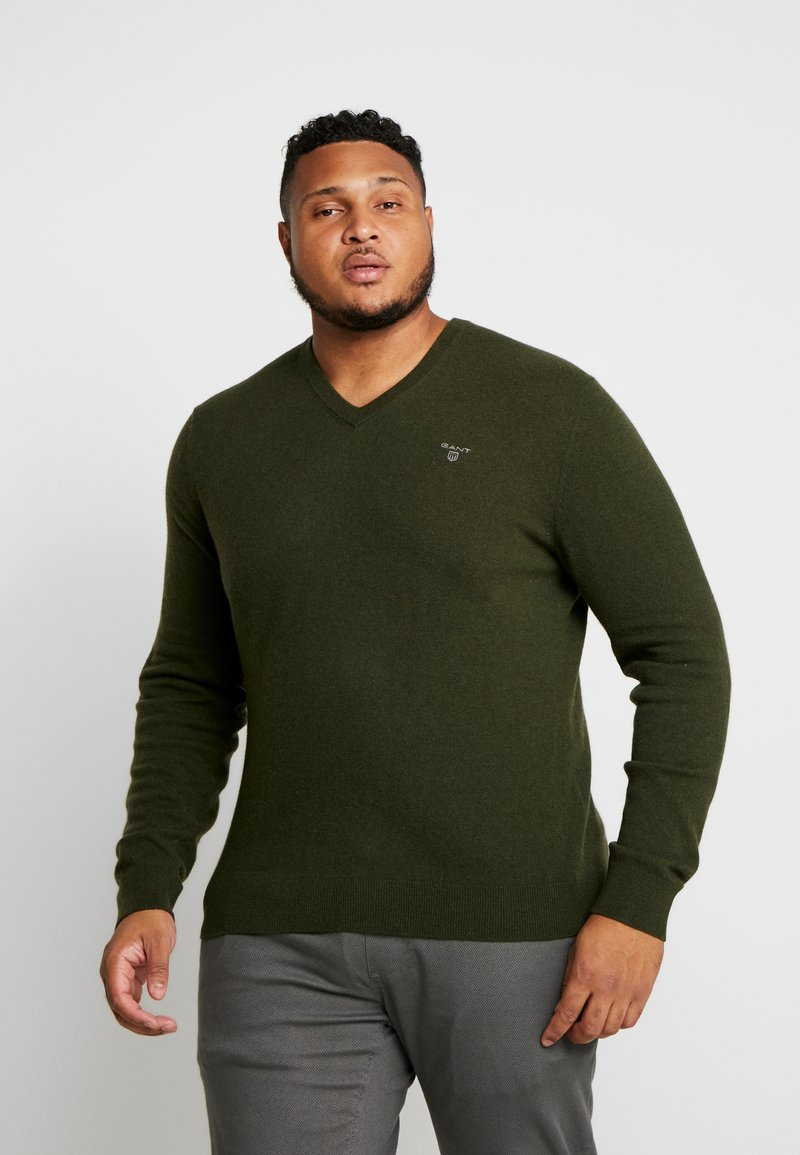 GANT - PLUS  - Svetr - field green