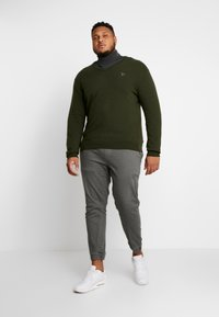 GANT - PLUS  - Svetr - field green - 1