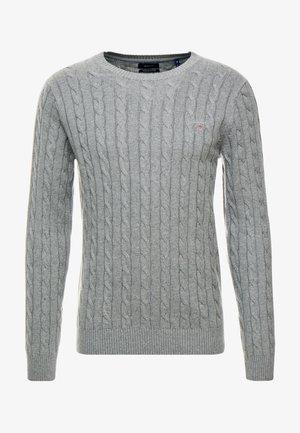 CABLE CREW - Jumper - dark grey melange