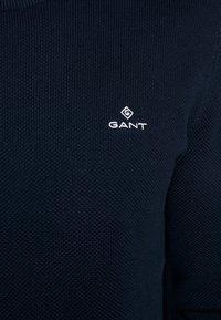 GANT - CREW - Sweter - evening blue - 4