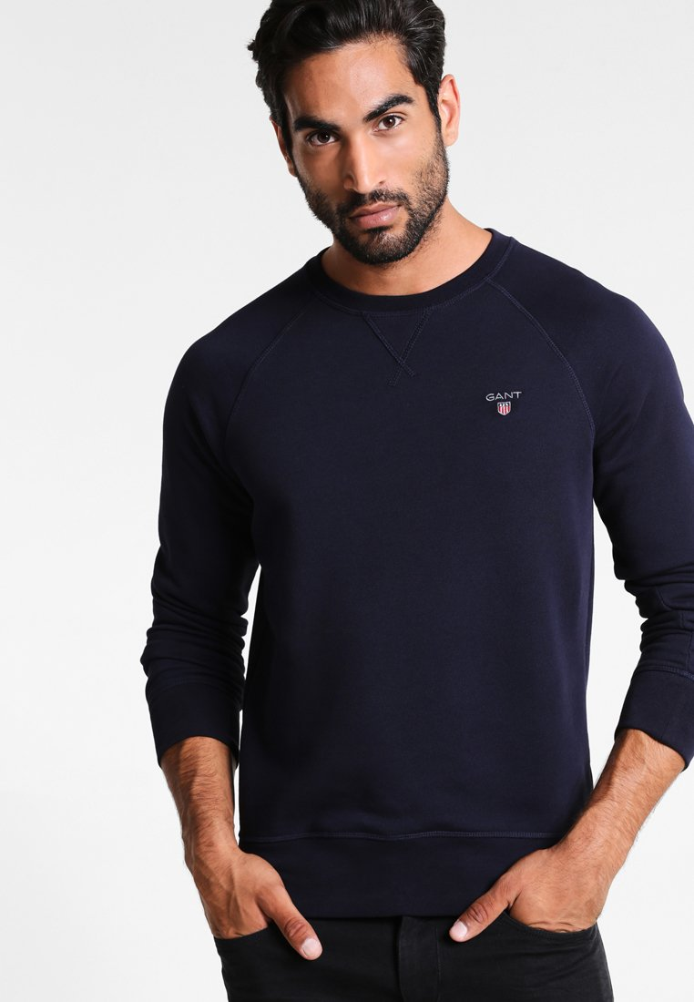 GANT - ORIGINAL C-NECK - Sweatshirt - evening blue