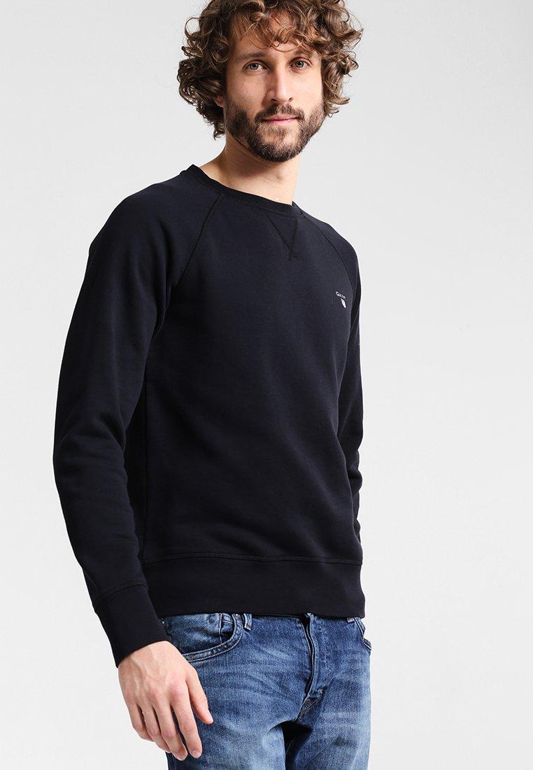 Original C Black Gant neckSweatshirt Gant rtsQxdChB