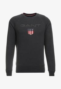 GANT - SHIELD C NECK - Sweatshirt - dark graphit - 3