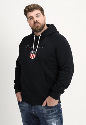 PLUS SHIELD HOODIE - Sweat à capuche - black