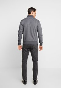 GANT - THE ORIGINAL FULL ZIP CARDIGAN - Felpa aperta - antracit melange - 2