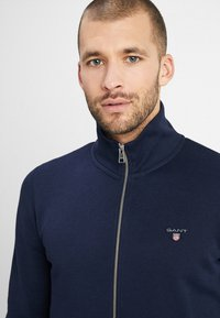 GANT - THE ORIGINAL FULL ZIP - veste en sweat zippée - evening blue - 5