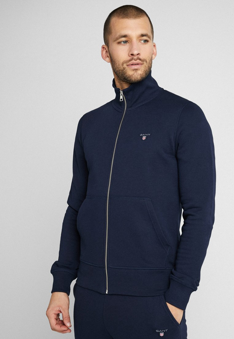 GANT - THE ORIGINAL FULL ZIP - veste en sweat zippée - evening blue