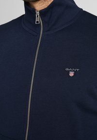 GANT - THE ORIGINAL FULL ZIP - veste en sweat zippée - evening blue - 3