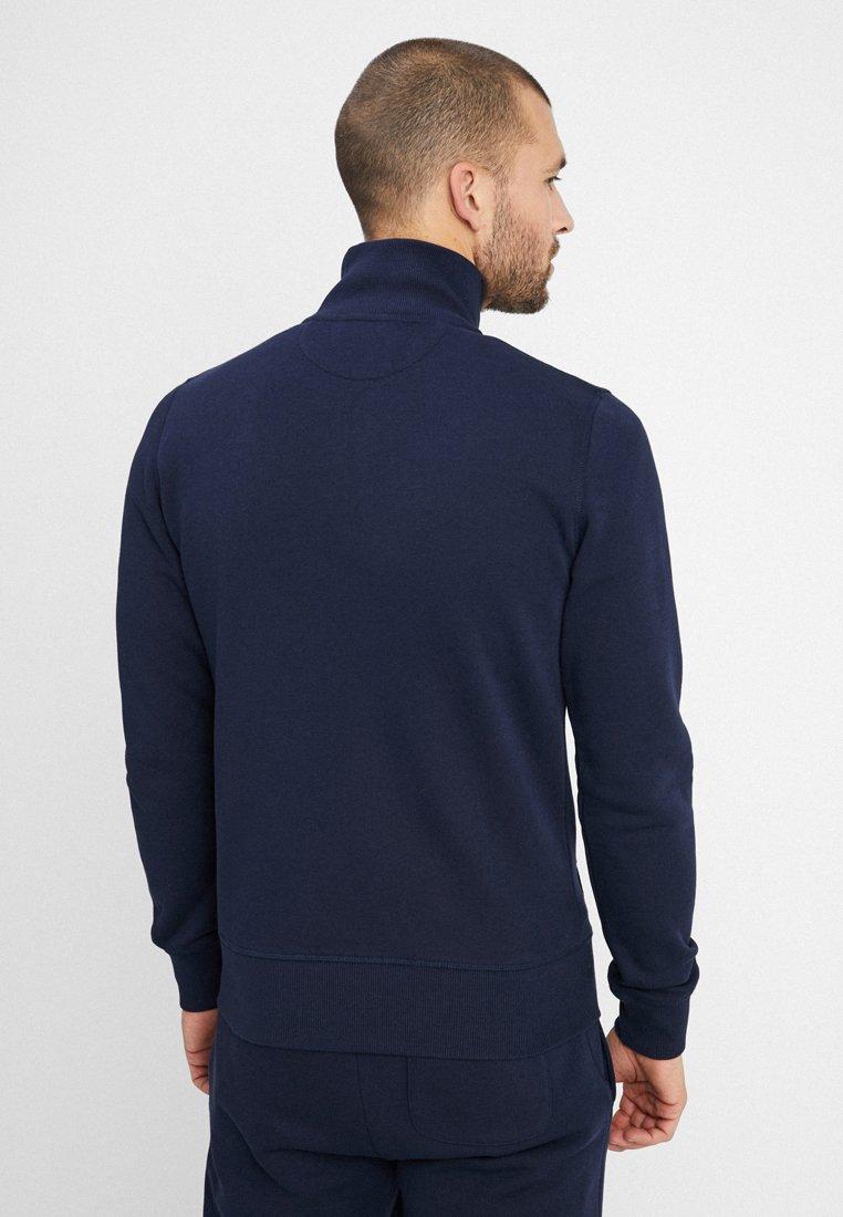 Full Zip CardiganVeste Sweat Original The Evening Gant Zippée Blue En 7fgYby6