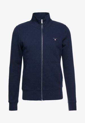 THE ORIGINAL FULL ZIP CARDIGAN - Hettejakke - evening blue