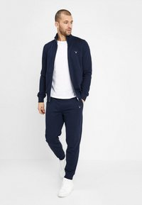GANT - THE ORIGINAL FULL ZIP - veste en sweat zippée - evening blue - 1