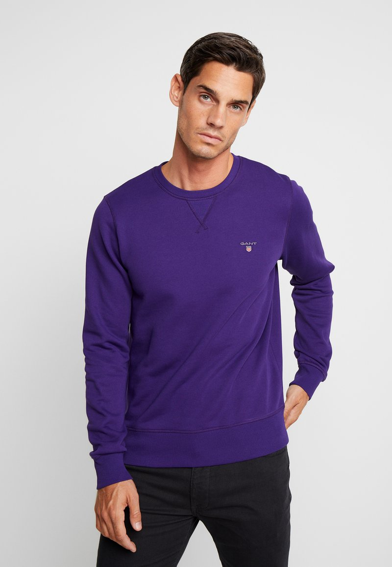 GANT - THE ORIGINAL C NECK  - Sweatshirt - parachute purple