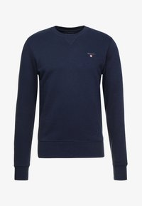 GANT - THE ORIGINAL C NECK  - Felpa - evening blue