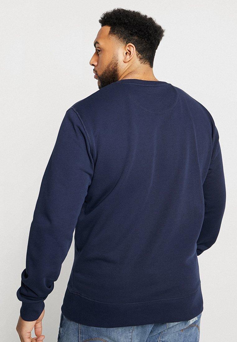 The Original neckSweatshirt Gant C Evening Blue qUVpMzS
