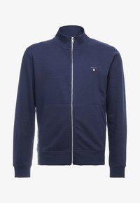 GANT - THE ORIGINAL FULL ZIP - Zip-up hoodie - evening blue - 4