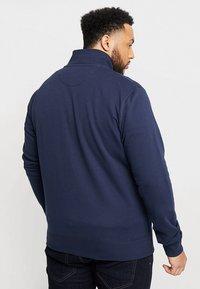 GANT - THE ORIGINAL FULL ZIP - Zip-up hoodie - evening blue - 2