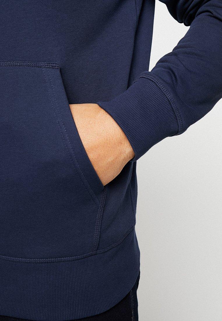 GANT THE ORIGINAL FULL ZIP - Bluza rozpinana - evening blue