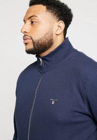 GANT - THE ORIGINAL FULL ZIP - Zip-up hoodie - evening blue - 3