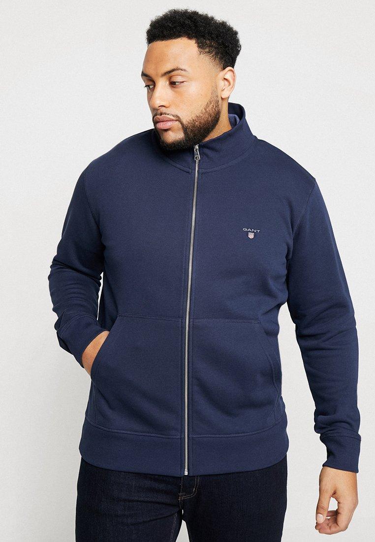GANT - THE ORIGINAL FULL ZIP - Zip-up hoodie - evening blue