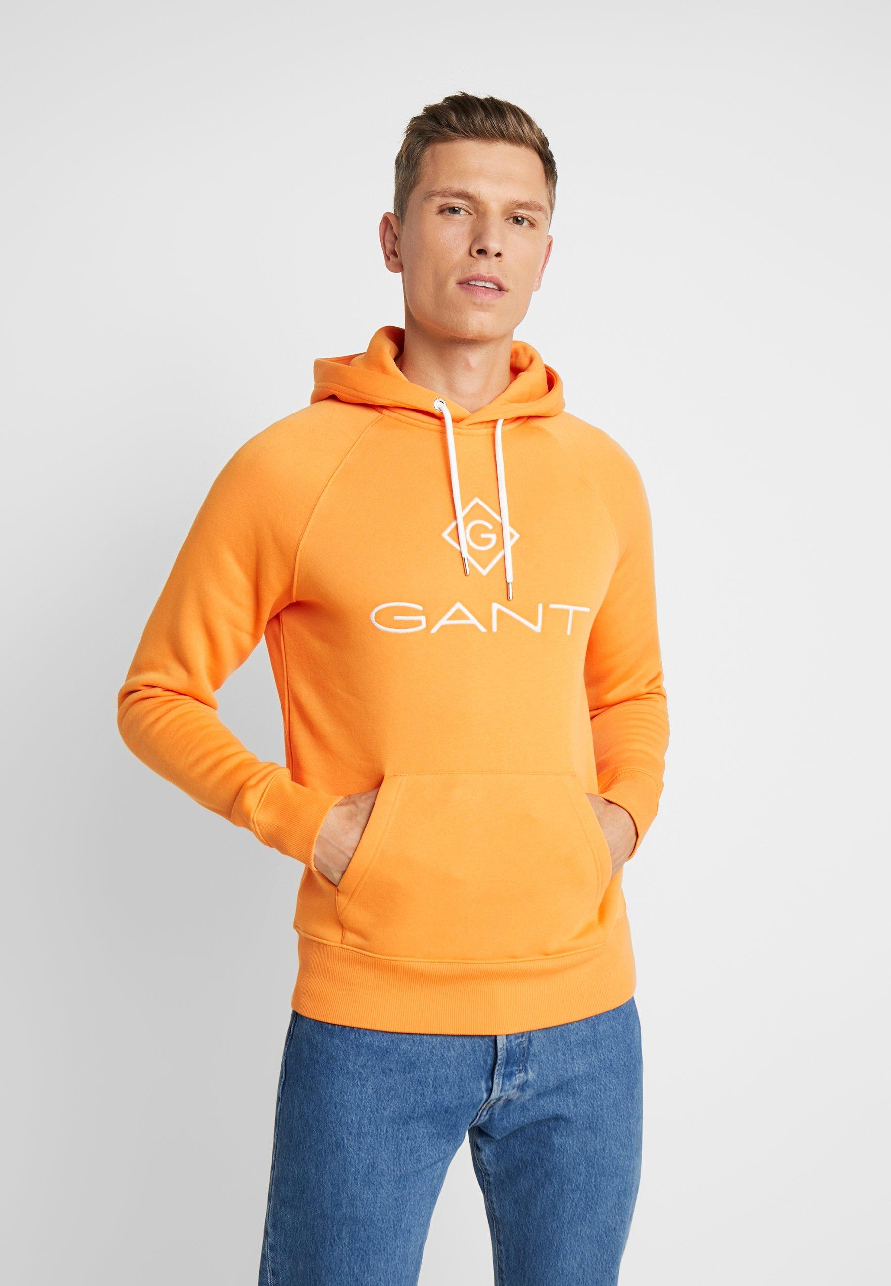 GANT LOCK UP - Bluza z kapturem - amberglow
