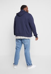 GANT - THE ORIGINAL FULL ZIP HOODIE - Zip-up hoodie - evening blue - 2