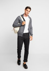 GANT - THE ORIGINAL FULL ZIP HOODIE - Mikina na zip - antracit melange - 1