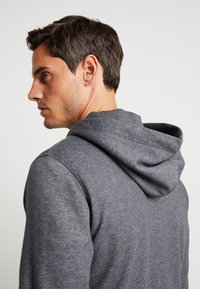 GANT - THE ORIGINAL FULL ZIP HOODIE - Mikina na zip - antracit melange - 3