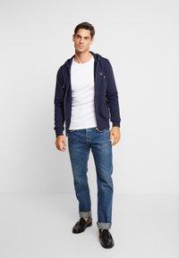 GANT - THE ORIGINAL FULL ZIP HOODIE - Zip-up hoodie - evening blue - 1