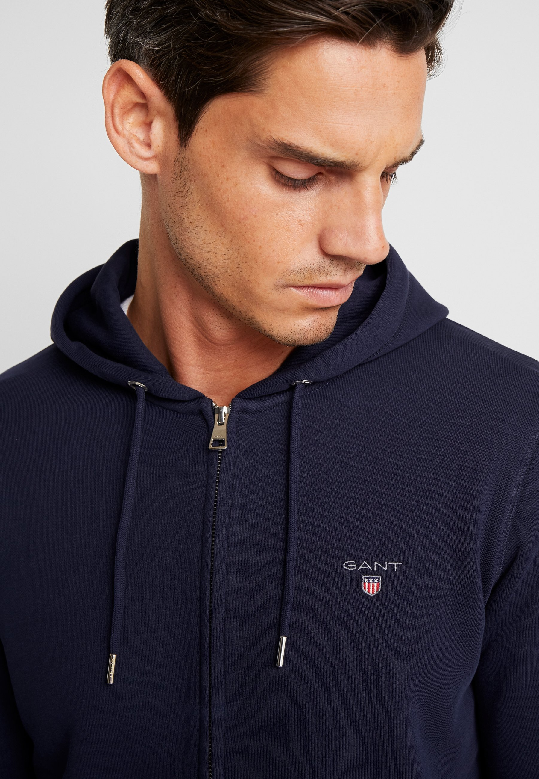 GANT THE ORIGINAL FULL ZIP HOODIE veste en sweat zippée