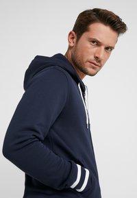 GANT - ANCHOR FULL ZIP HOODIE - veste en sweat zippée - evening blue - 3