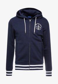 GANT - ANCHOR FULL ZIP HOODIE - veste en sweat zippée - evening blue - 5