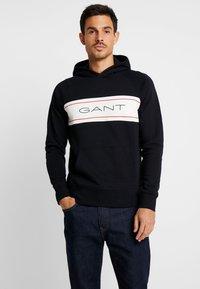 GANT - Hættetrøjer - black - 0
