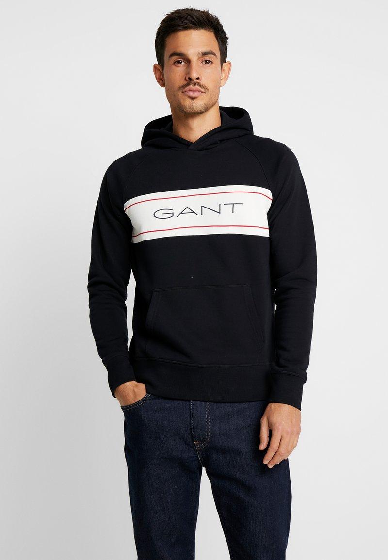GANT - Hættetrøjer - black
