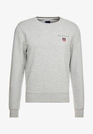 MEDIUM SHIELD CREW - Sweater - light grey melange