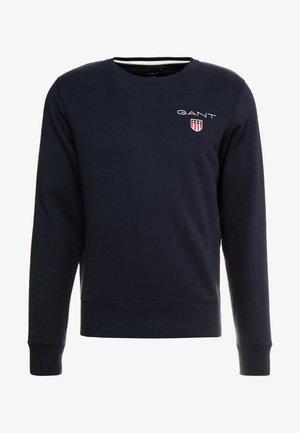 MEDIUM SHIELD CREW - Sweatshirt - black
