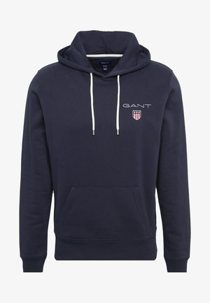 MEDIUM SHIELD HOODIE - Jersey con capucha - evening blue