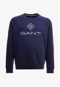 GANT - PLUS LOCK UP NECK  - Sweatshirt - evening blue - 3